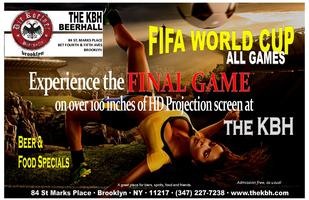 World Cup Finals at the KBH