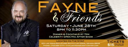 Fayne & Friends at Ron DeCar's Event Center
