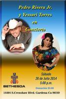 Concierto Pedro Jr. Rivera & Yessuri Torres