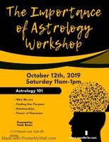Importance of Astrology workshop Tickets, Sat, Oct 12, 2019 at 11:00