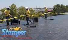 Stamper Roofing & Construction logo