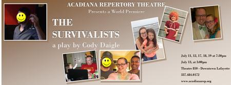 Acadiana Repertory Theatre presents THE SURVIVALISTS:A...
