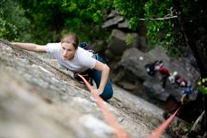 Beginners' Intro  Rock Climbing Classes!