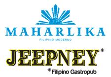 Maharlika Filipino Moderno and Jeepney Filipino Gastropub logo