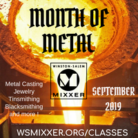 Iron Pour - The Finale for the Month of Metal at MIXXER