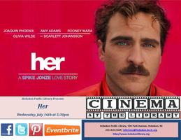 Monthly Film Screening: Her