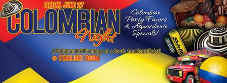 COLOMBIAN THEMED INTERNATIONAL EVENING @ STARLIGHT...