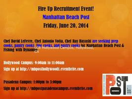 MB Post Recruitment Pasadena Campus