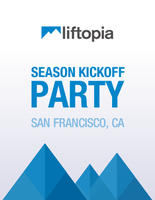 Liftopia Ski Season Kickoff Party: San Francisco