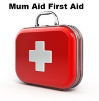 Mun Aid First Aid at Portsmouth Baby Show logo