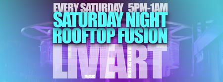 Art Soiree Saturday Night Artistic Rooftop Fusion