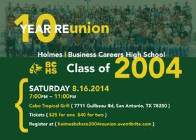 { 10 Year reUNION } Holmes | Business Careers High...