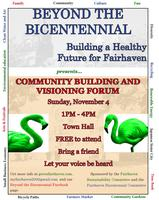 Fairhaven Bicentennial Committee and Fairhaven Sustainability Committee
