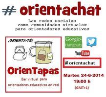 #orientachat - Las redes sociales para orientadores...