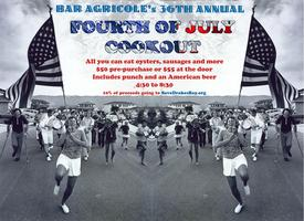 36th Annual Bar Agricole Fourth of July Cookout