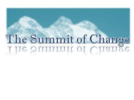 The Summit of Change