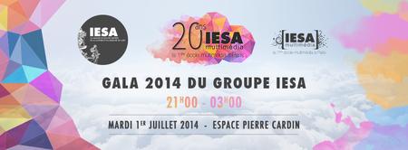 Gala 2014 du Groupe IESA > #20ansIESAmultimedia