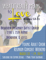 BMBC Young Adult Choir Reunion Weekend