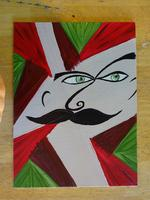 "JULY: Canvas Painting Class- ""Mustasso Man"""