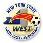 New York State West Youth Soccer Association logo
