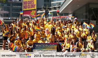 uWaterloo at the 2014 World Pride Parade