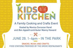 Kids in the Kitchen: A Family Cooking and Crafts Event