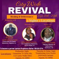 CTC CITY WIDE REVIVAL (HEALING & DELIVERANCE) APOSTLE...