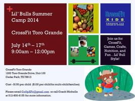 'Lil Bulls Summer Camp 2014