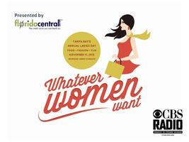 Whatever Women Want --- presented by Florida Central Credit...