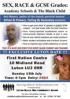 Luton Black Men Community Group LBMCG supporting...