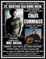 CHRIS CUMMINGS & MIKE BIGGAR IN CONCERT AT ST. MARTINS...