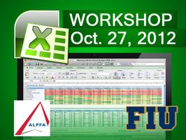 ALPFA FIU: Excel Workshop