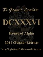 Pi Gamma Lambda 2014 Chapter Retreat