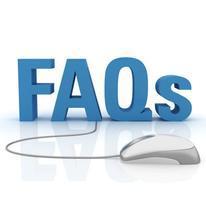 FAQ's 2