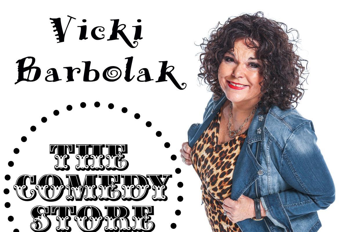 Vicki Barbolak - Sunday - 7:30pm