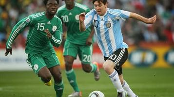 ARGENTINA vs. NIGERIA 2014 World Cup