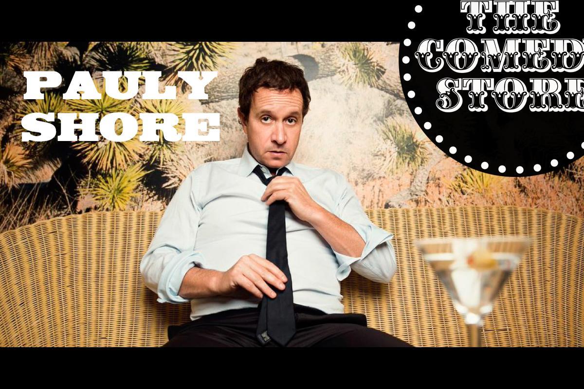 Pauly Shore - Saturday - 9:45pm