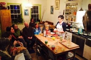 Kosmic Kitchen's Katherine Miller in Philly