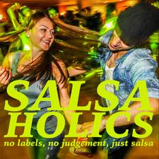 Salsaholics logo