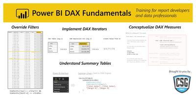 Power BI DAX Fundamentals - Portland, OR