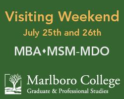 Marlboro College Visiting Weekend, July 25th and 26th,...