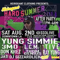 #HardSummer After Party