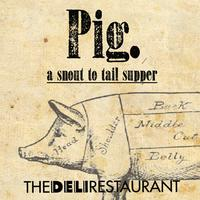 Pig. |a snout to tail supper|