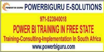 Powerbi training in Free State,South Africa