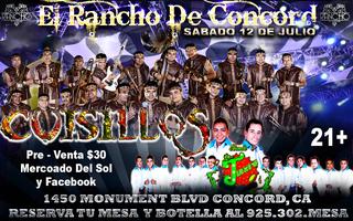 EL RANCHO DE CONCORD PRESENTA: SABADO 12 DE JULIO:...