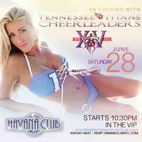 An evening with Tennessee Titans Cheerleaders:...