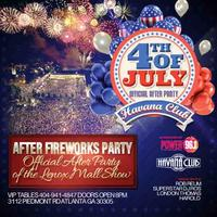 After Fireworks Party: Friday July 4 at Havana Club
