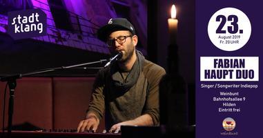 «stadtklang» m. Fabian Haupt Duo / live im weinbunt...
