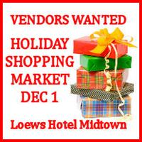 Holiday Shopping Bazaar - Vendor Registration Opportunity