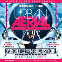 Thurs! Aerial Thursdays at Club Pure | Late Night...